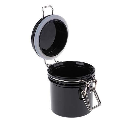 B Baosity Versiegelte Dosen Behälter Topf Kosmetikflasche Behälter Topf Maske Verriegelung Deckel Rund Maske Jar