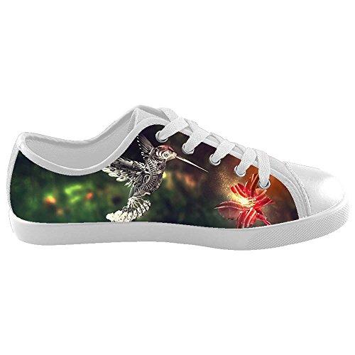Dalliy Hummingbird And Flower Kids Canvas shoes Schuhe Footwear Sneakers shoes Schuhe B