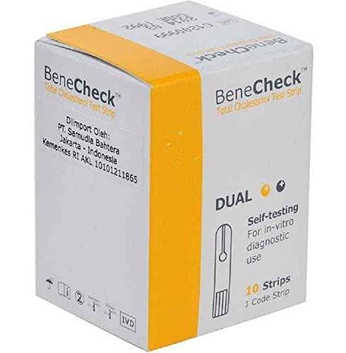 BeneCheck Cholesterin-Messstreifen x 10 Stück