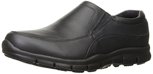 Skechers for Work Women's Sure Track Atrium Health Care and Food Service Shoe, Black
