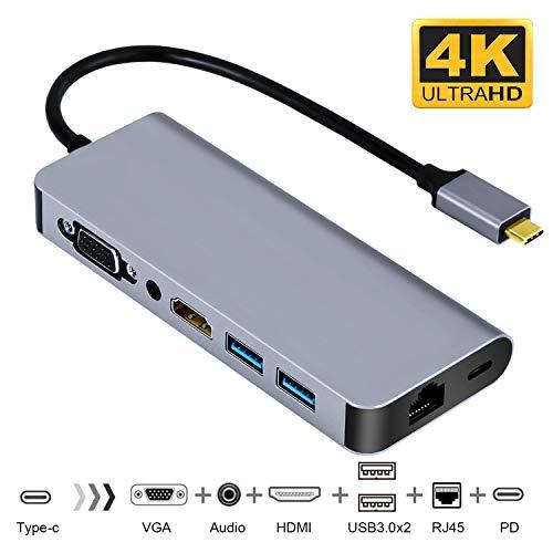 CHARJENPRO PREMIUM USB-C AdapterApple MacBook Pro Hub  2018-17-16 HDMI 4K