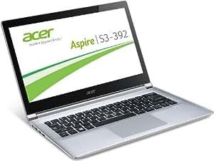 Acer Aspire S3-392G-54204G1.02TTWS 33,7 cm (13,3 Zoll) Notebook (Intel Core i5-4200U, 2,6GHz, 4GB RAM, 1000GB HDD, NVIDIA GeForce GT 735M, Touchscreen, Win 8) weiß/aluminium