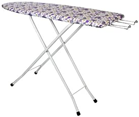 HOUZIE Wooden Foldable Ironing Table , Medium, Multicolour