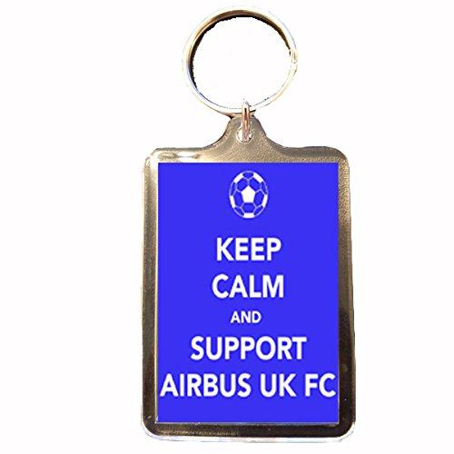 airbus-uk-broughton-fc-keep-calm-keyring