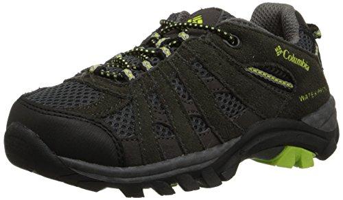 Columbia Redmond Explore, Chaussures de Randonnée Basses Garçon Gris (Shale 051)