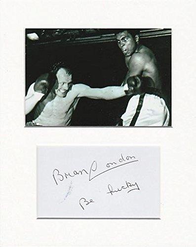 Boxer-Brian London Original Authentic Autogramm AFTAL COA (Ray Ali Blu Muhammad)