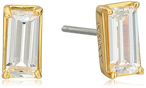 nicole-miller-sweet-baguette-gold-stud-earrings