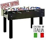 FAS Calciobalilla Stadium 2.0 Black Aste rientranti - Biliardino