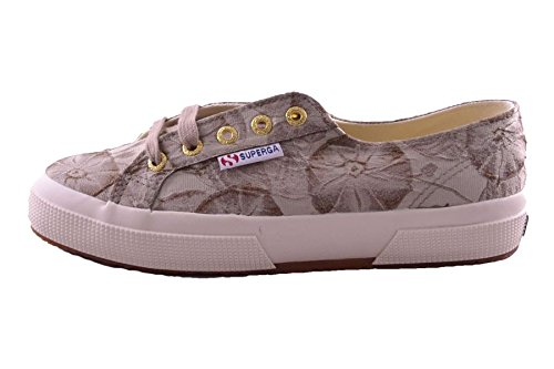 Superga 2750 Fabricw Vanity, Chaussons Sneaker Adulte Mixte Beige - Beige (Natural)