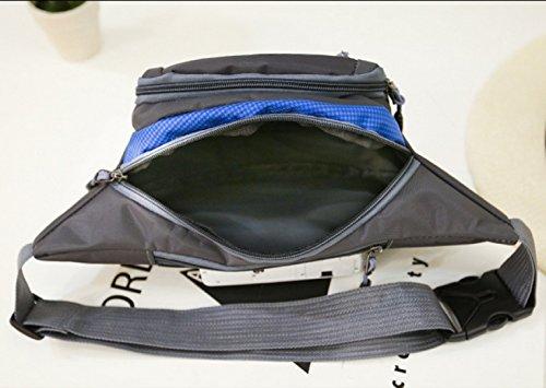 Outdoor Uomini E Donne Sport Viaggi Denaro Pacchetto Del Telefono Cellulare In Nylon Fanny Pack (stili Multipli),A A