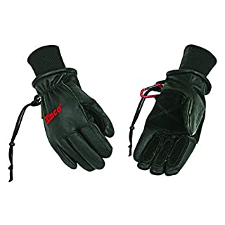 Kinco 900MAX-M Premium Top-grain Pigskin Leather Ski Glove, Black
