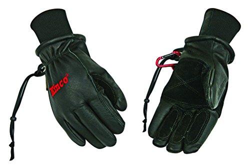 Preisvergleich Produktbild Kinco 900 max Premium Arbeitsgürtel Schweinsleder Leder Ski Handschuh,  schwarz,  Medium,  schwarz,  1