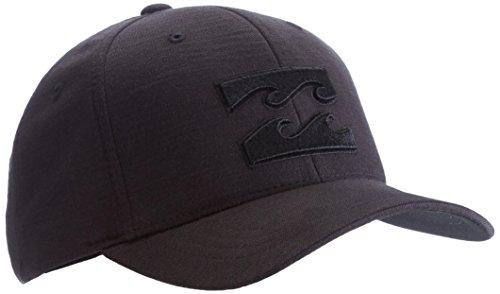 billabong-all-day-flexfit-mens-cap-black-stealth-sizeone-size