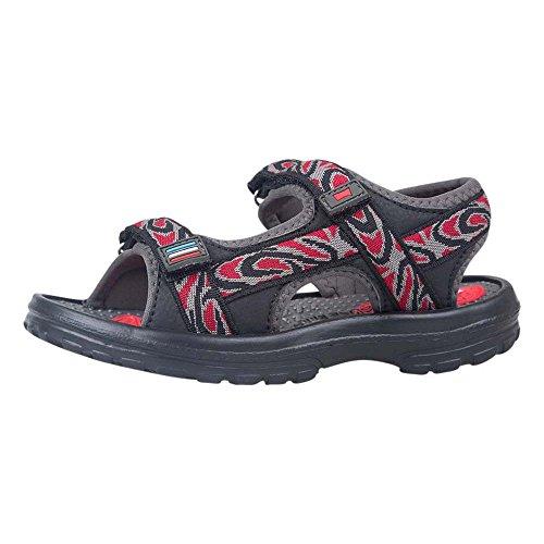Bild von Mountain Warehouse Sand Sandalen für Jungen - Kinder-Flipflops, Neopren, strapazierfähige Laufsohle, Klettverschluss, Abnehmbarer Fersenriemen - Für Strandspaziergänge