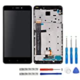 swark LCD Display für Xiaomi Redmi Note 4 (not fits for Xiaomi Redmi Note 4X or Xiaomi Redmi 4X) Schwarz Touchscreen Digitizer Assembly Glas + Rahmen+Tools