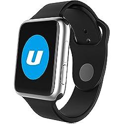 Leopard Shop Ulefone Smart Watch Dialer SMS Pedometer Function Bluetooth 4.0 Silver