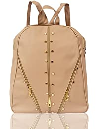 Beets Collection Student Shoulder Backpack for Women   Girls Bag (Light  Brown) ab631f228cba7