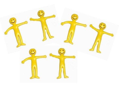 40-stuck-x-gelb-stretchy-smiley-herren-man-tutenfuller-originalverpackung-gelb