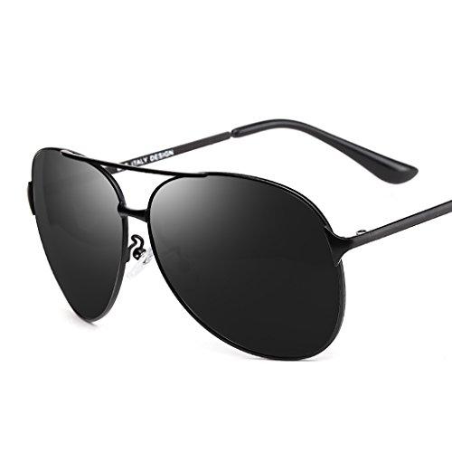 Ppy778 Classic Aviator Polarized Pilot Mirrored UV400 Schutz Fahren Sonnenbrille Mit Premium Metallrahmen Für Herren Damen (Color : A)