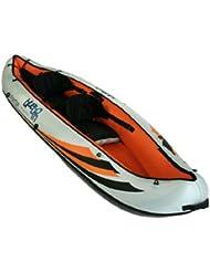 Blueborn Boat Frontier SKC330 - Kayak para 2 personas con funda de nailon 330 x 94 cm (Capacidad: 18