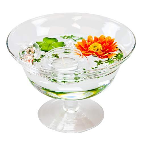 Bol roxy 76 hauteur: 13 cm-diamètre: 18 cm (avec décoration fleur gerbera orange)