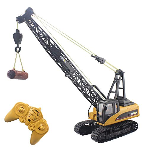 SLONG RC Crawler Tower Crane Hoist Cable Casting Modell Lifting Cable Remote Control Bagger Bagger Bagger Toy Bauwagen