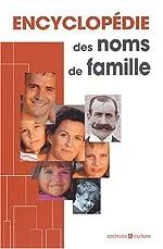 Encyclopédie des noms de famille de Marie-Odile Mergnac