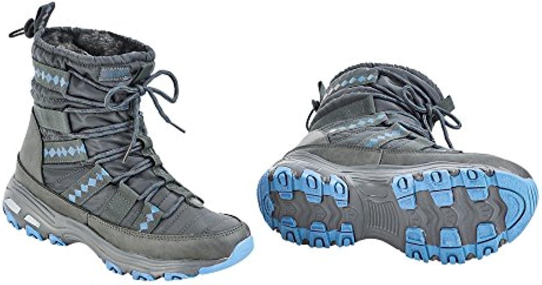 Busse térmica Zapatos Burnaby, grau (ice blue)  -