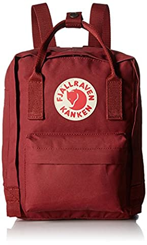 Fjallraven Kanken Mini Backpack - Ox Red, One Size