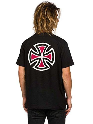 Herren T-Shirt Independent Bar Cross T-Shirt Black