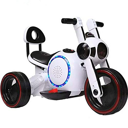 WXCymhy Motocicleta eléctrica for niños Hombres y Mujeres Triciclo for niños 1-2-4 Coche de Juguete...