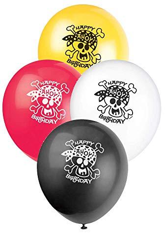 Unique Party Supplies Pirat Fun Bday FL Bnr 12ft-lf -