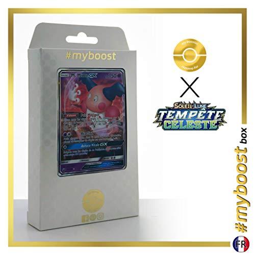 Mr. Mimie-GX 56/168 - #myboost X Soleil & Lune 7 Tempête Céleste - Box de 10 Cartas Pokémon Francés