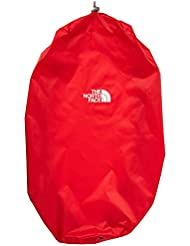 The North Face Rain Cover Cubierta impermeable para mochila, Red, L