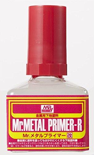 【 Mr.メタルプライマー改 】 金属用下地塗料 #CMMP242/ ビン入り 40ml エッチングパーツ に絶対必要です! Mr.ホビー