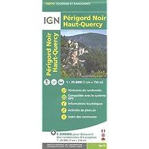 TOP75026 PERIGORD NOIR/HAUT-QUERCY  1/75.000
