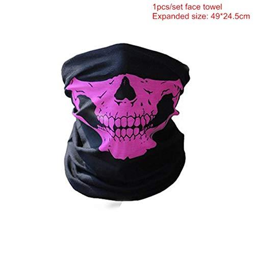 Mädchen For Kostüm V Vendetta - WSJDE Halloween Party Maske 1 Teile/Satz V Wie Vendetta Maske Bape Vollgesichtsmaske Anonym Guy Fawkes Kostüm Zubehör, QRosa 1 stücke