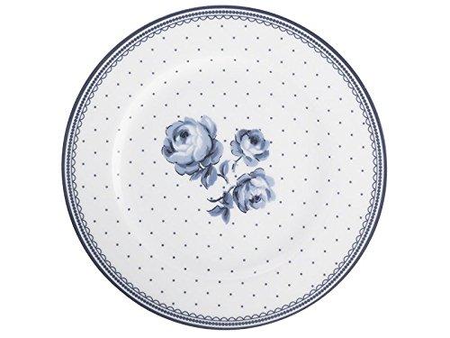 Katie Alice - Plato para guarnición, vintage, diseño floral, azul añil