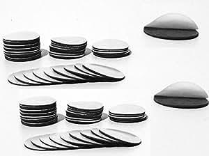 Smagtron Magnettechnik Power Takkis Lot de 100 pastilles magnétiques autoadhésives 20 mm