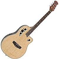 Guitarra Electroacústica Deluxe Con Dorso Redondeado de Gear4music Natural