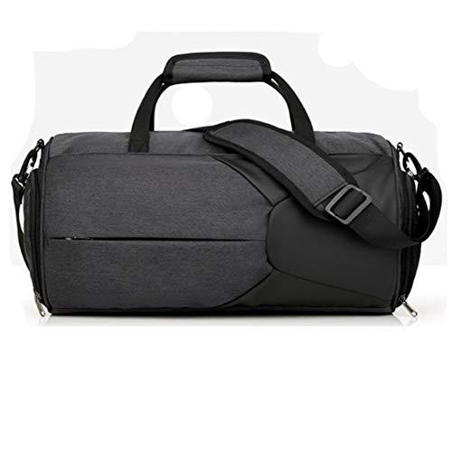 2c10139e41 Ankamal Elec Sac de Sport Sac de Sport avec Compartiment à Chaussures et  Pochette de Lavage