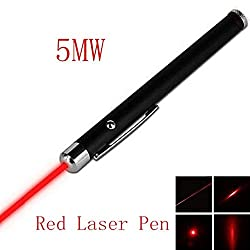 Generic Red Laser Pointer Pen Beam Light 5mW 650nm Professional High Power Single Dot
