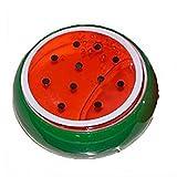 6.8 * 6.8cm Koly cristal de la fruta de arcilla de goma de barro inteligente de la mano de goma Plasticine Slime Kid juguetes (Rojo)