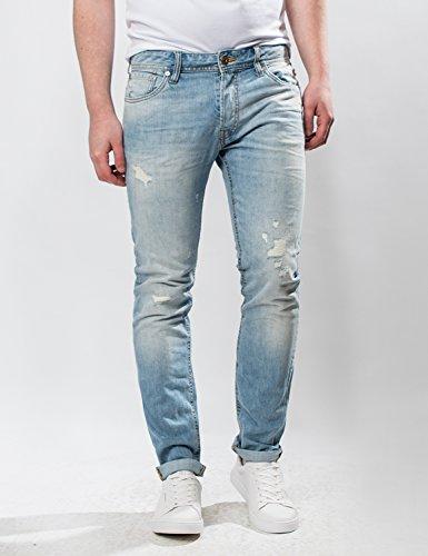 Jack &Jones - Jeans - Slim - Homme Blue Stonewash