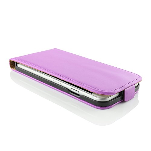 Apple iPhone 6 / 6s Handyhülle von original UrCover® in der Flip Edition Schutzhülle Edel Case Cover Etui Grün Lila