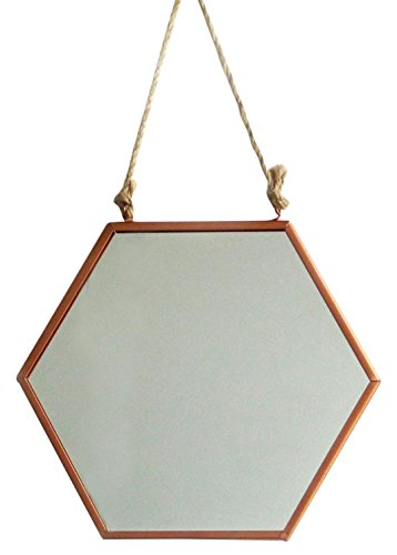just-contempo-retro-copper-metal-mirror