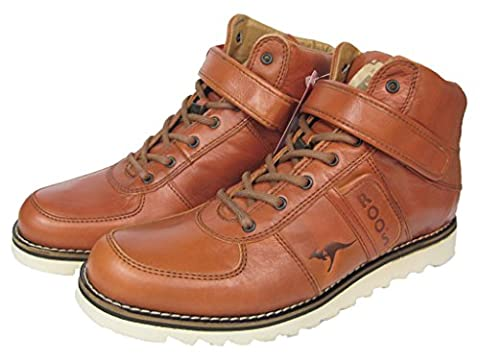 KangaROOS Herren Leder Sneaker Boot Stiefel Skywalker