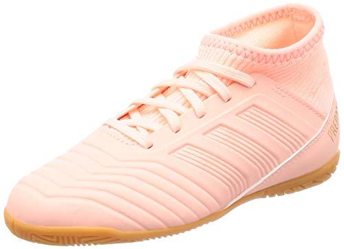 adidas Predator Tango 18.3 in J Scarpe da Calcetto Indoor Unisex-Bambini, Arancione Narcla 0, 38 EU