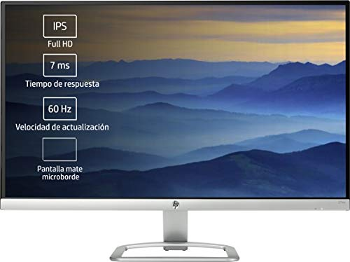 HP 27ea - Monitor de 27'' con Altavoces (FHD, 1920 x 1080 a 60 Hz, IPS con retroiluminación LED),...