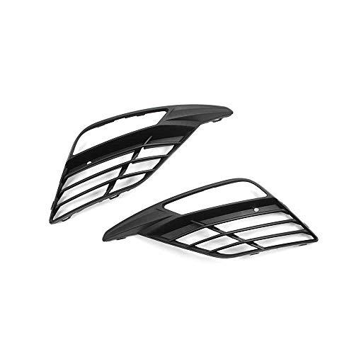 Seat Leon (5F) CUPRA Facelift Nebelscheinwerfer Abdeckung Gitter satinschwarz